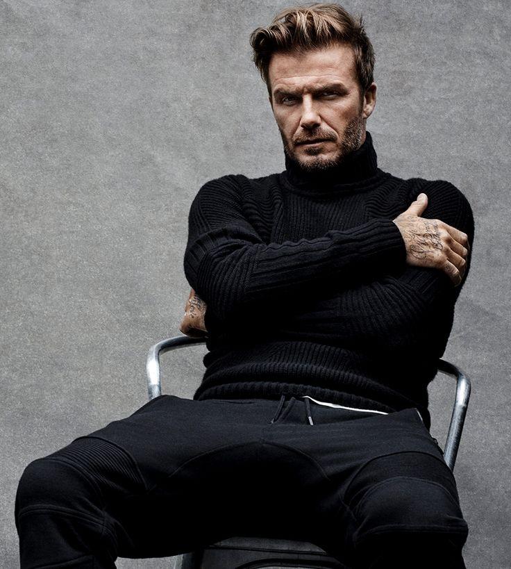 David Beckham manspreading